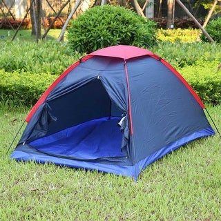 2-person Outdoor Camping Tent Kit Water Resistance for Hiking Traveling with Carry Bag