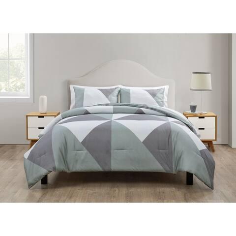 Jade + Oake Geo Colorblock Comforter Set