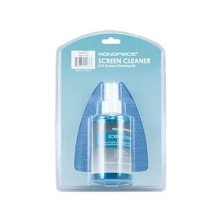 Monoprice Universal Screen Cleaner (Large Bottle, Blister Pack) for LCD & Plasmas TV, all iPad, iPhone, Galaxy Tab, and