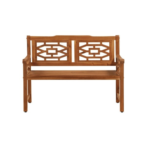 OVE Decors Malay 48 in. Bench with Natural Wood Look Finish - 48 in.. Opens flyout.
