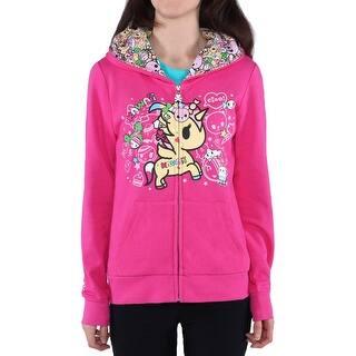 Tokidoki Kawaii Unicorno Women's Pink Hoodie https://ak1.ostkcdn.com/images/products/is/images/direct/efa31001b0852dd25e44cabaa43944d941f49c0d/Tokidoki-Kawaii-Unicorno-Women%27s-Pink-Hoodie.jpg?impolicy=medium