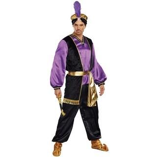 Dreamgirl The Sultan Adult Costume - Purple/black