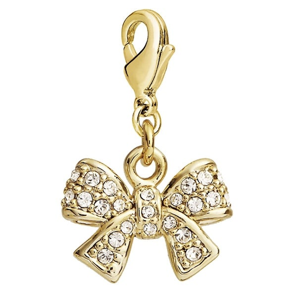 Julieta Jewelry Bow CZ Clip-On Charm