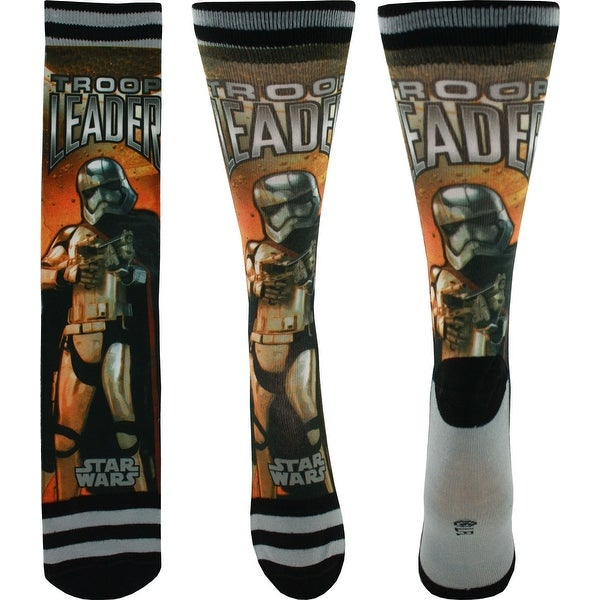 Star Wars Captain Phasma Photoreal Crew Socks