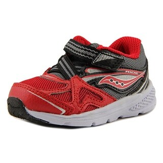 Saucony Baby Ride Round Toe Canvas Walking Shoe