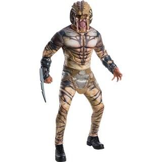 Mens Deluxe Predator Halloween Costume