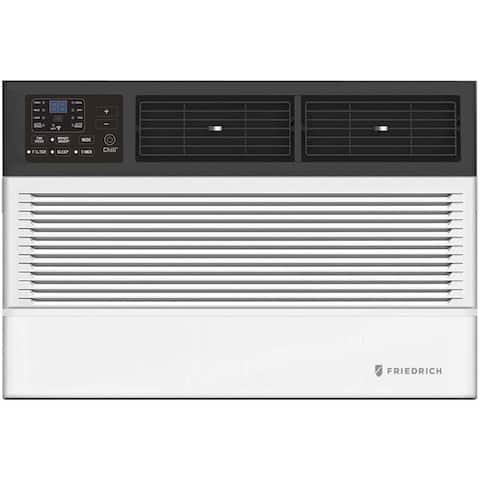 "Friedrich CCW08B10A 20"" Chill Premier Smart Room Air Conditioner with 8000 BTU Cooling Capacity, in White"
