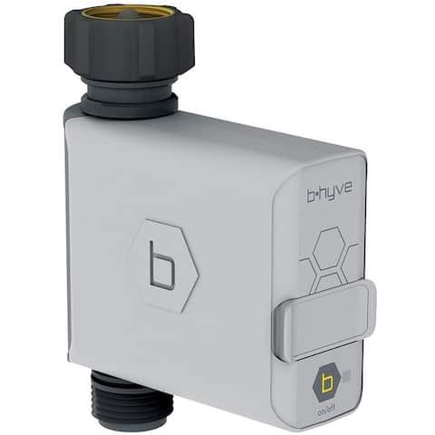 Orbit B-hyve Smart Programmable 1 zone Bluetooth Hose Faucet Timer, Gray