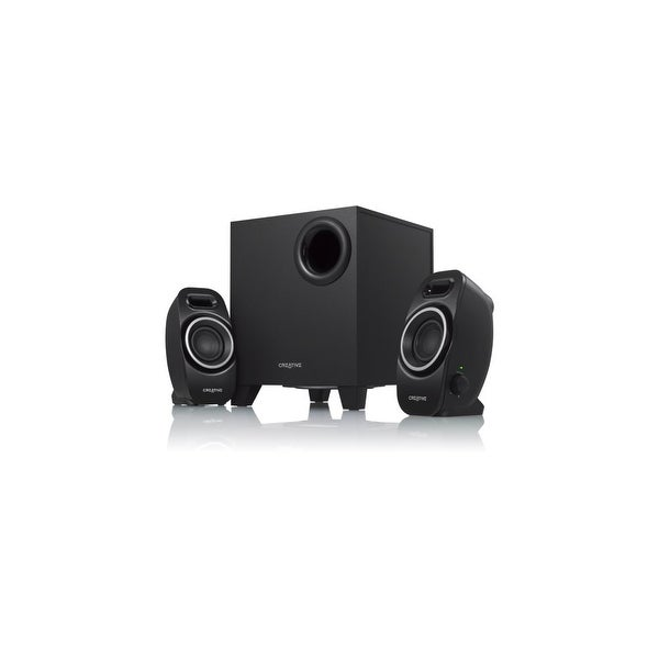 Creative 51MF0420AA002 Creative SBS Series A250 2.1 Speaker System - 9 W RMS - Black