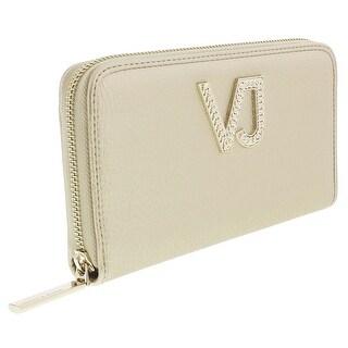 Versace EE3VRBPC1 Gold Continental Wallet - 8-4-1