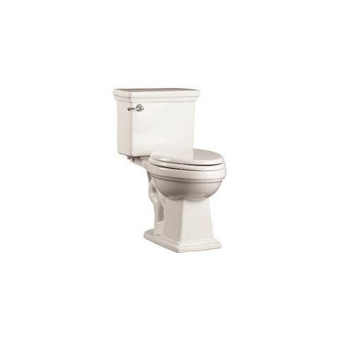 """Mirabelle MIRKW200A Key West 1.28 GPF Toilet Tank Only with 12"""" Rough In - Left Hand Trip Lever"""