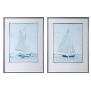 Link to Uttermost Seafaring Framed Prints (Set of 2) Similar Items in Art Prints