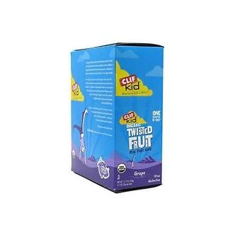 Clif Bar - Clif Kid Organic Z Fruit Rope Grape ( 18 - .7 OZ)