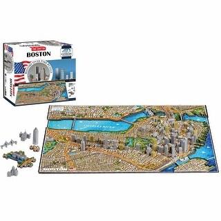 4D Cityscape Puzzle - Boston - MultiColor