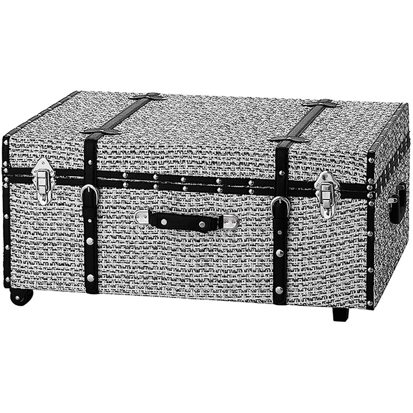 Black and White Candy Texture Brand Trunk