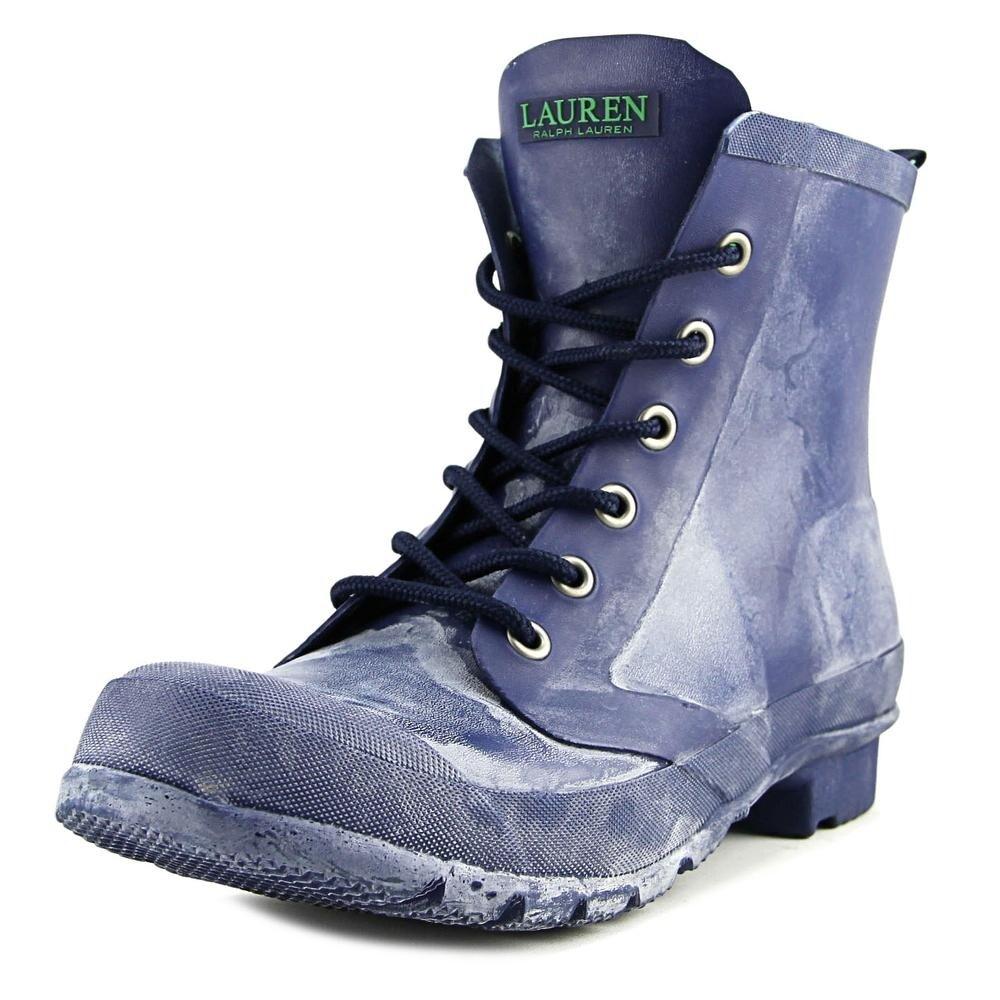 Shop Lauren Ralph Lauren Mikenna Bo Rai Women Navy Snow Boots Overstock 17670848