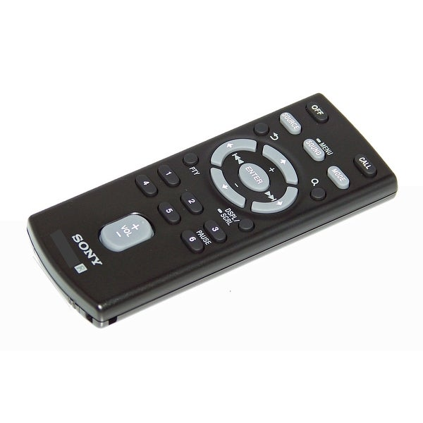 NEW OEM Sony Remote Control Originally Shipped With MEXN4100BT, MEX-N4100BT