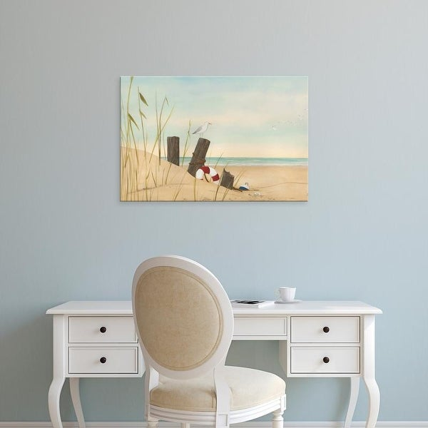 Easy Art Prints June Erica Vess's 'Seaside Dunes I' Premium Canvas Art