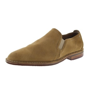 Trask Mens Blaine Suede Round Toe Loafers - 8 medium (d)