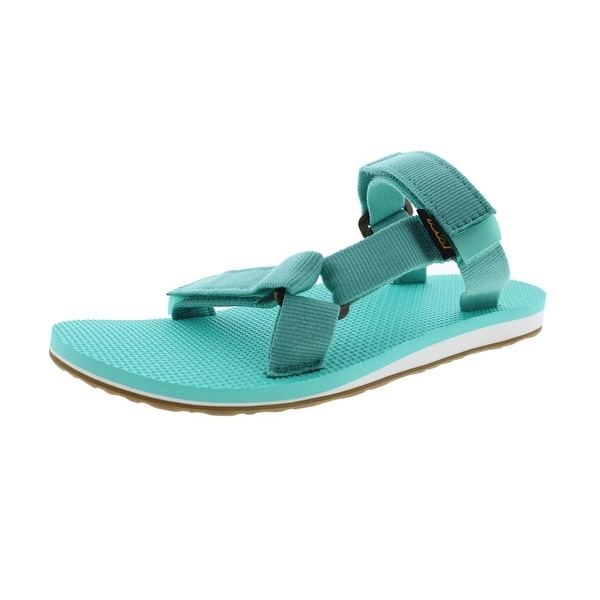 Teva Womens Slide Sandals Textured Flat