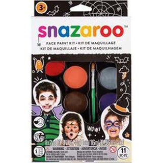 Scary Faces - Snazaroo Face Painting Kit