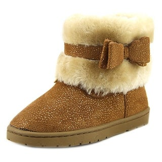 Rampage Girls Lil Roxy Toddler Round Toe Synthetic Tan Winter Boot