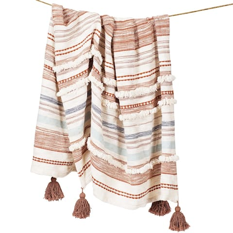 Poly and Bark Ace Throw Blanket