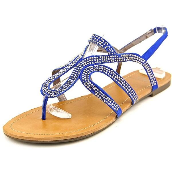 Material Girl Serena Women Cobalt Sandals