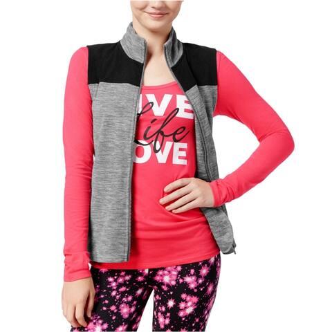 Energie Womens Fleece Vest & Graphic T-Shirt