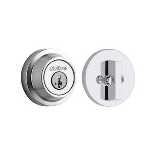 Kwikset 660CRR-S Contemporary Single Cylinder Deadbolt with SmartKey (4 options available)