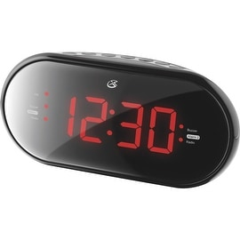 GPX Dual Alarm Clock Radio