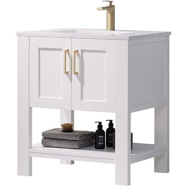 30 Bathroom Vanity And Sink Combo Overstock 34117186