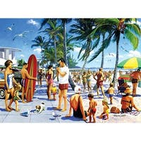 Lido Beach 1000 Piece Puzzle, 1,000 Piece Puzzles by LPF Limited