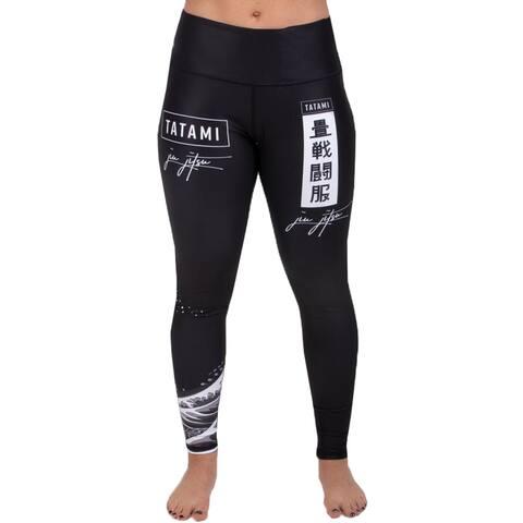 Tatami Fightwear Women's Kanagawa High Waisted Spats - Black