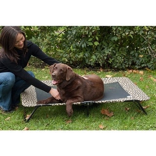 Designer Pet Cot - Medium/Tan