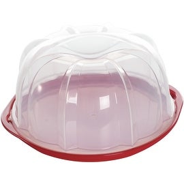 Nordic Ware 50022 Translucent Bundt Cake Keeper, Assorted Colors