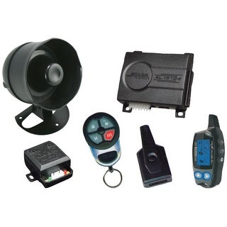 Excalibur AL1510EDP Deluxe 2-Way Keyless Entry Alarm System with Code Hopping Feature