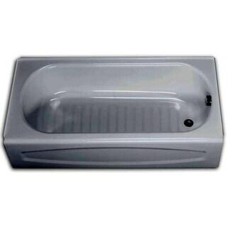 "American Standard 255.112 New Salem 60"" Enameled Steel Soaking Bathtub with Right Hand Drain - White - N/A"