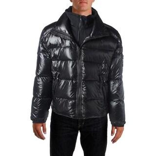 Sam Mens Down Fill Neoprene Bib Puffer Coat - XL