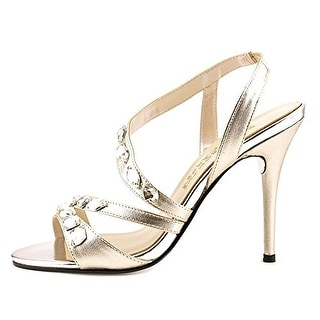 E! Live From The Red Carpet Womens Goldee Open Toe Formal Slingback