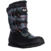 Keds Powderpuff Mid-Calf Winter Boots, Plaid - 10 us / 41 eu