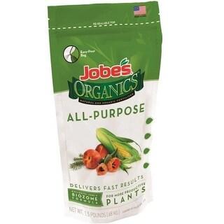 Jobes 09521 Organic Granular All-Purpose Fertilize, 1.5 lb.