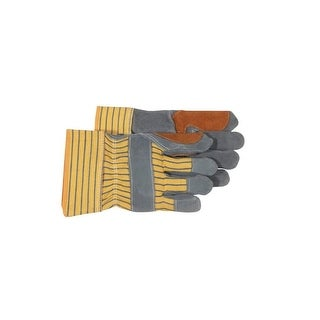 Boss 4057 Double Palm Gloves, Large