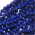 Dyed Blue Lapis-Color Howlite 2mm Round Beads 16 Inch Strand - Thumbnail 0