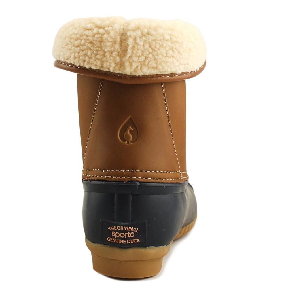 05d8b32cc8a Sporto Degas Women Round Toe Leather Multi Color Snow Boot