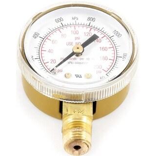 Forney 87729 Oxygen Gauge, 0-200 PSI