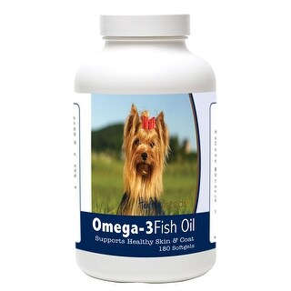 Healthy Breeds Yorkshire Terrier Omega-3 Fish Oil Softgels