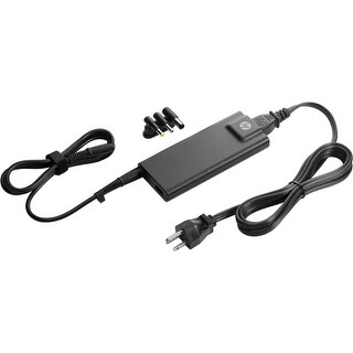 HP 90W Slim with USB AC Adapter HP 90W Slim with USB AC Adapter - 90 W Output Power