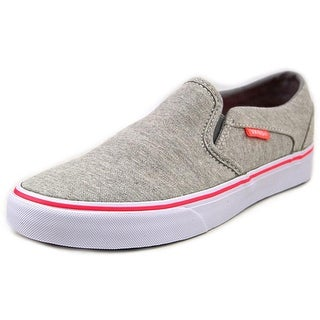 Vans Asher Women Canvas Gray Fashion Sneakers