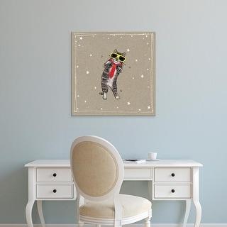 Easy Art Prints Hammond Gower's 'Fancypants Cats I' Premium Canvas Art